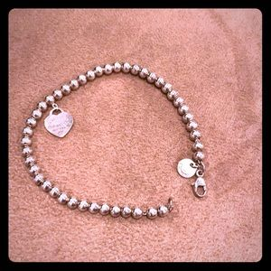 Tiffany&Co Return to Tiffany beaded bracelet